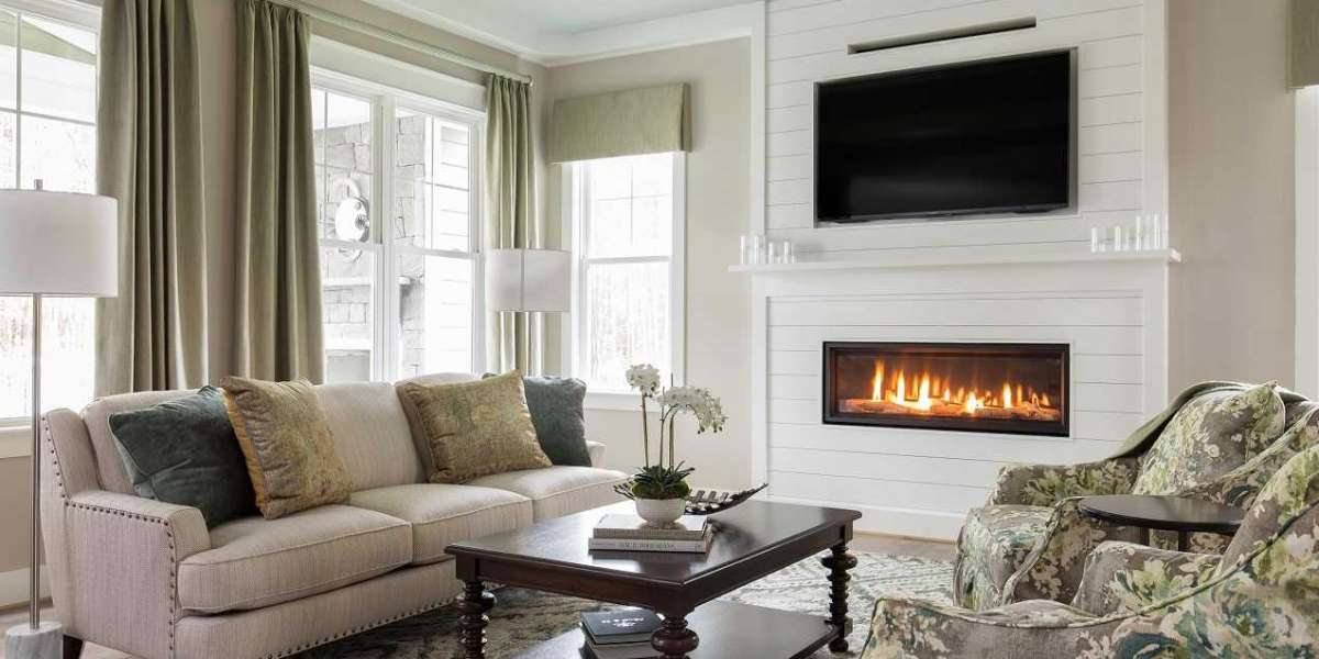 Ideas For Decorating Living Rooms With Corner Fireplaces